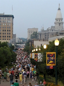 Taste of Tippecanoe, Downtown Lafayette, Indiana (2002)