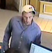 Do you know this guy? Call the WeTip hotline, 1-800-782-7463
