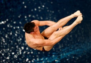 Boudia will join Thomas Finchum, his teammate at the 2008 Beijing Olympics, for the synchronized platform preliminary competition Friday.