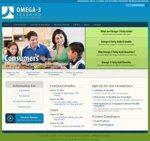Omega3learning.purdue.edu answers basic questions about what Omega-3 fatty acids do, where to find them and how to ensure a person is getting the right type of Omega-3s.