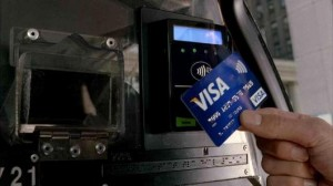 By holding the debit card close to a contactless card reader, customers can complete a purchase transaction in seconds. The cardholder remains in possession of his or her card at all times and, for most purchases under $25, will not be required to sign.  When the merchant does not accept contactless transactions, cardholders can still swipe the card.