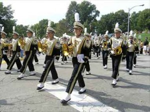 Purdue's All-American Marching Band will give a free, hour-long, informal performance on Saturday, August 22nd at the Hull Drill Field on Third Street, across from Shreve.