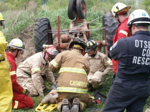 The most common mistakes resulting in farm-related fatalities include using older tractors without rollover protective structures on hillsides and being in too much of a hurry and not using safety devices or switches on equipment.