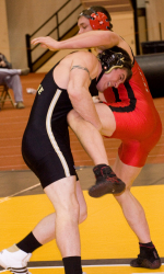 Logan Brown Purdue Wrestler