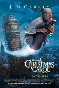 A Christmas Carol, released on Nov 4, is the sole holiday themed movie of the season, which is a dramatic departure from seasons past.