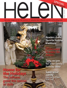 HELEN Magazine Cover Dec 2008
