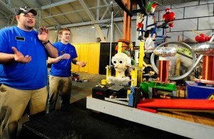 Purdue Society of Professional Engineers Rube Goldberg Team