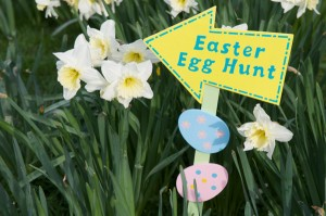 Easter Egg Hunt and Sidewalk Carnival